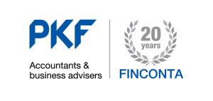 01-x Logo PKF 20 years