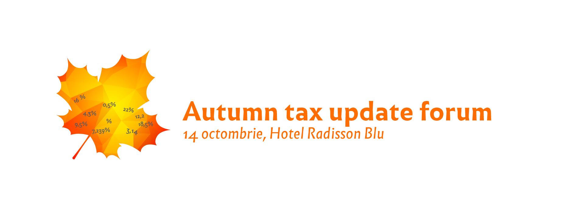 Autumn Tax Update Forum