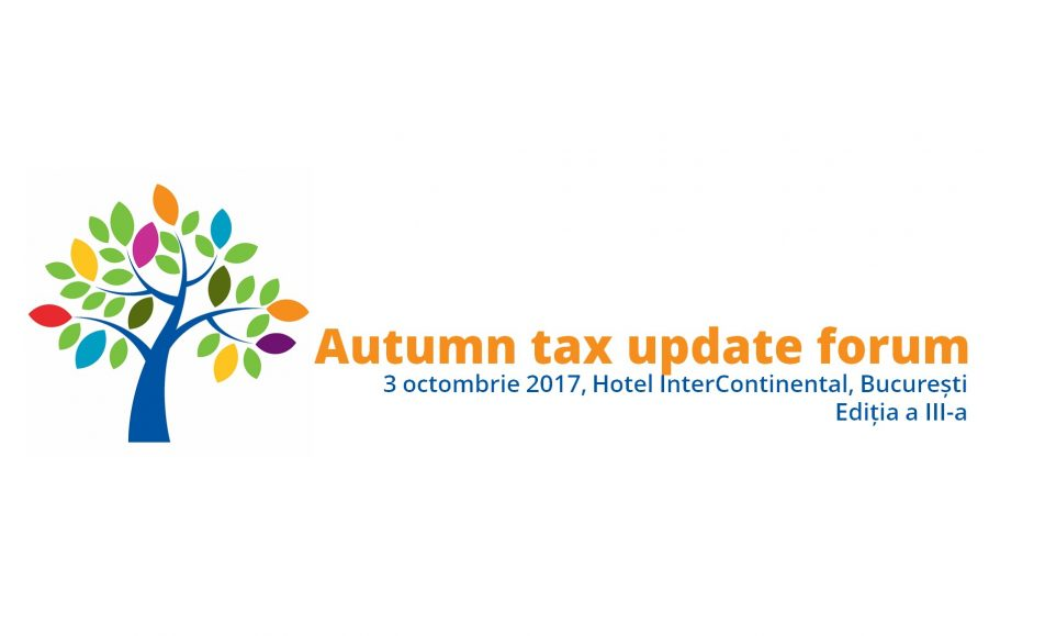Autumn tax update forum. Editia a III-a