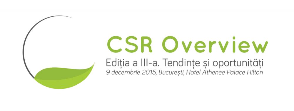 CSR Overview. Tendințe și oportunități, ediția a III-a
