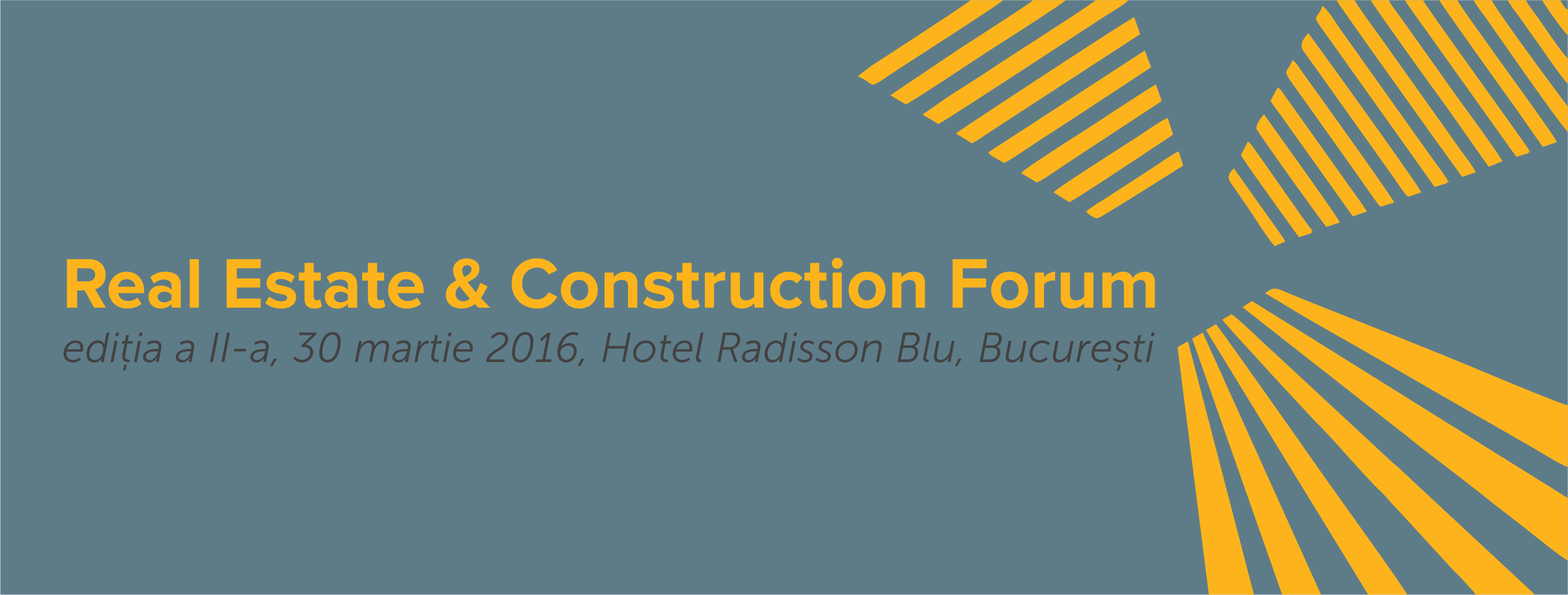 Real estate & Construction Forum, Ediția a II-a