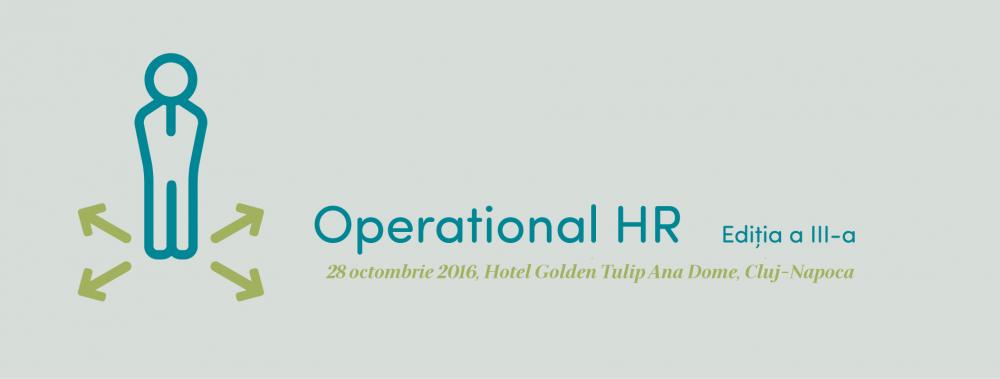 Operational HR, ediția a III-a, Cluj-Napoca