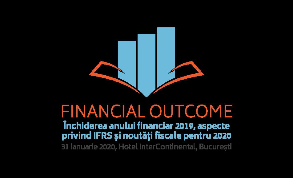 FINANCIAL OUTCOME. Închiderea anului financiar 2019, aspecte privind IFRS și noutăți fiscale pentru 2020
